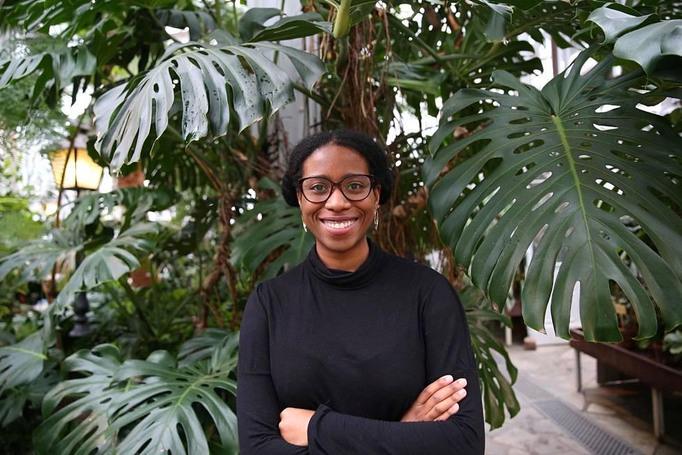 Jenny Kasongo liittyi Students of Colourin toimintaan kesällä 2019. Hän toimii järjestön puheenjohtajana.