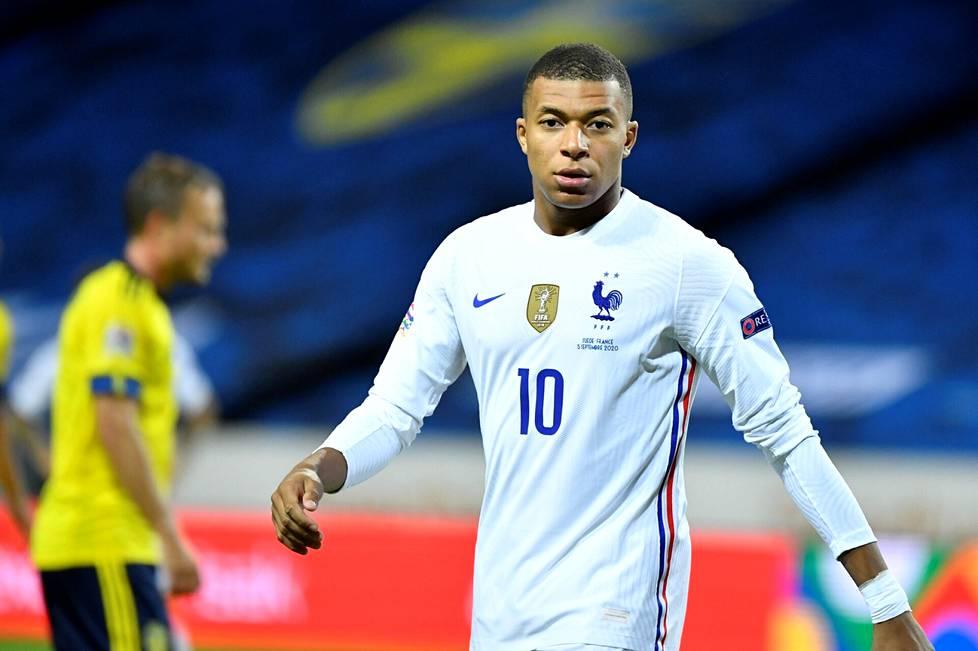 Kylian Mbappé, 22, on supertähti jo nyt.