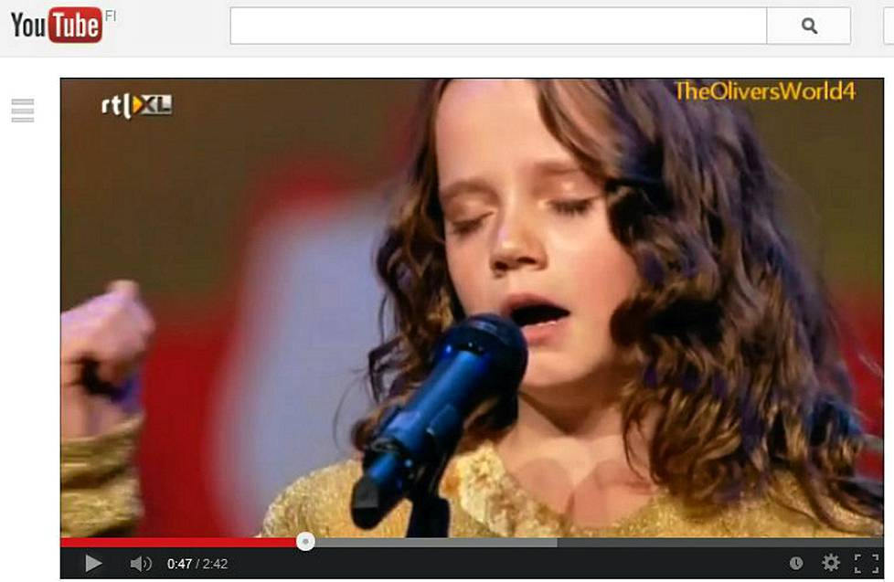 9-vuotiaan Amira Willighagenin Talent-esitys on melkoinen Youtube-hitti.