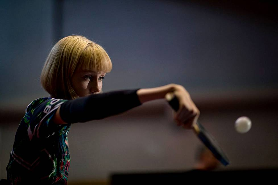 Aino Tapola in rehearsals in June 2019.