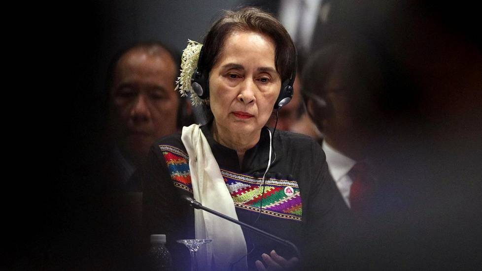 Aung San Suu Kyi marraskuussa 2018.