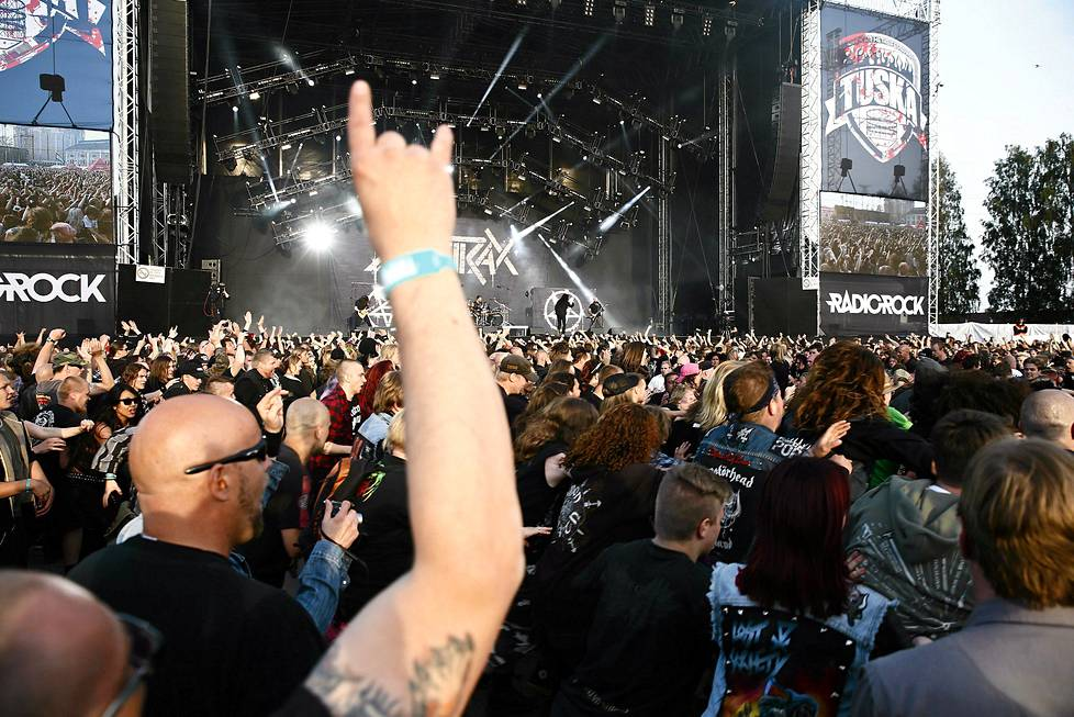 Tuska Open Air Festival.