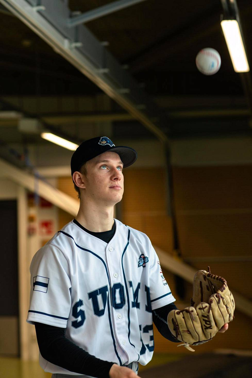 Konsta Kurikan kova heittokäsi on tehnyt vaikutuksen baseball-piireissä aina ulkomaisia ammattilaisorganisaatioita myöten.