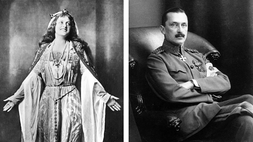 Hanna Granfelt ja C.G. E. Mannerheim