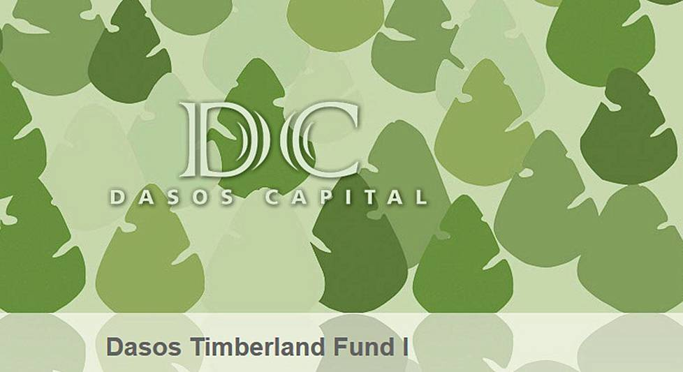 Dasos Timberland Fund I -rahaston internetsivu.