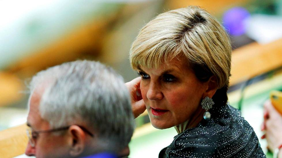 Australian ulkoministeri Julie Bishop.