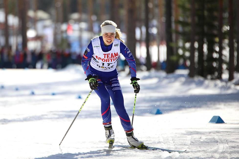 Viime lauantaina Ida Haapala sijoittui Äänekoskella yleisen sarjan 10 km:n (v) SM-kisassa kymmenenneksi.