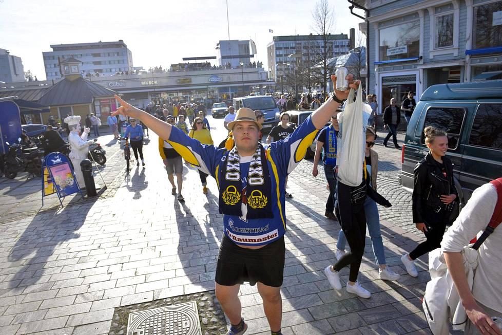 Lukko on jääkiekon Suomen mestari.