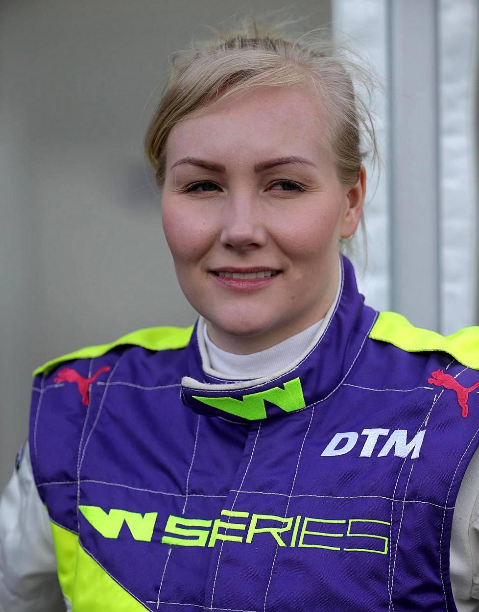 Emma Kimiläinen ajoi vuonna 2019 W Series -sarjan avauskaudella.