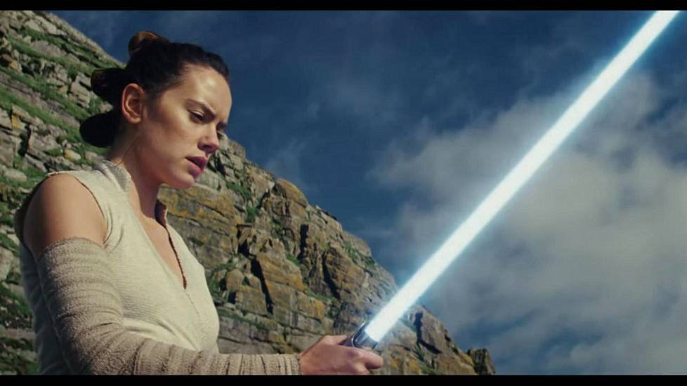 Daisy Ridley on uuden Star Wars -trilogian Rey.