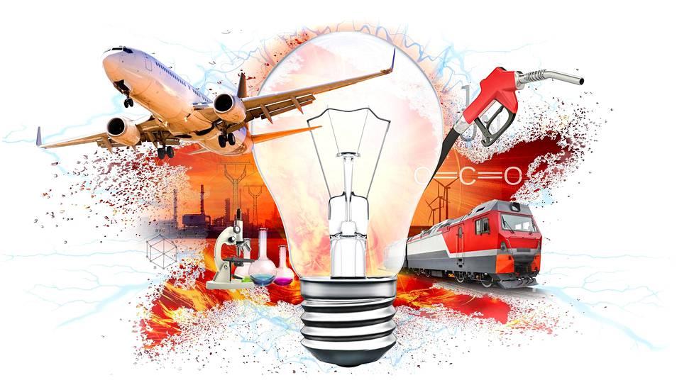 Power-to-X:n idea on, että kovalla tuulella ja kovassa auringonpaisteessa syntyvä ylijäämäsähkö muutetaan hyödylliseen muotoon, esimerkiksi polttoaineiksi.