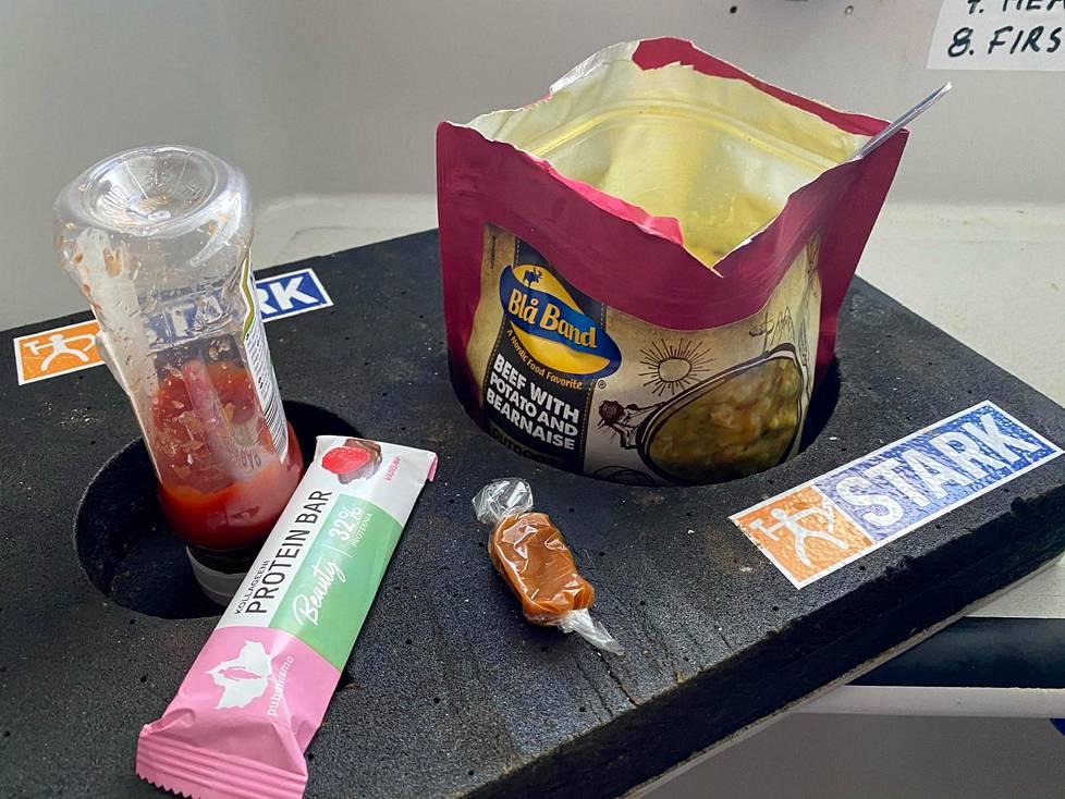 Päivän lounaspaketti.