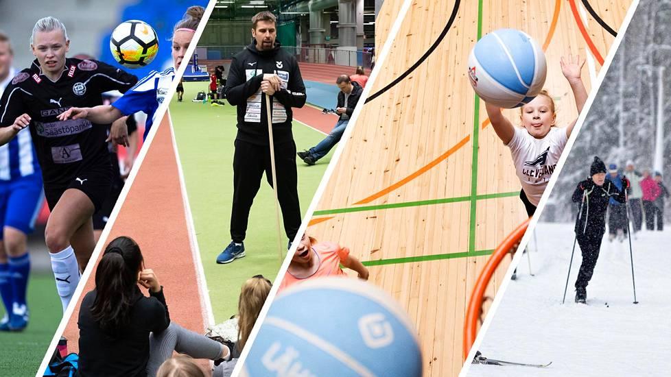 Helsingin liikunta- ja urheilupaikkoja käyttää vuosittain noin 100000 urheilijaa ja urheilun harrastajaa.