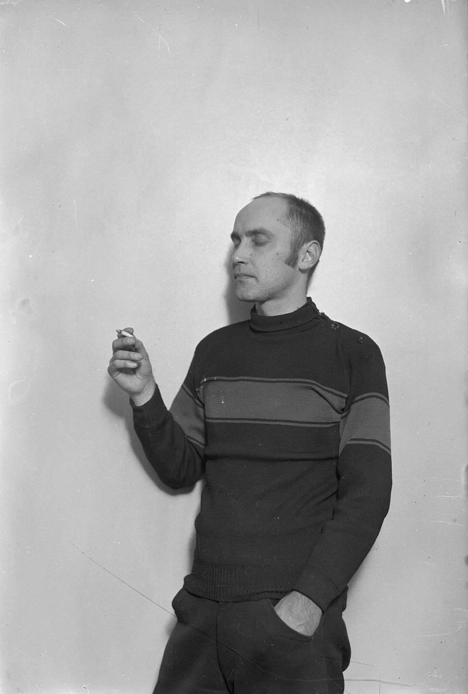 Paavo Susitaival kuvattuna Mäntsälän kapinan aikaan 1932.