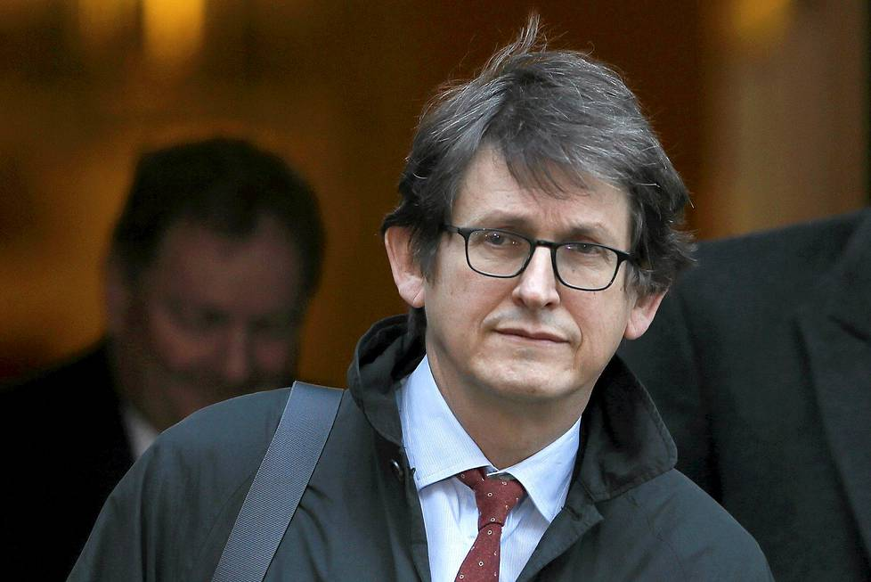 Sanomalehti The Guardianin Alan Rusbridger.