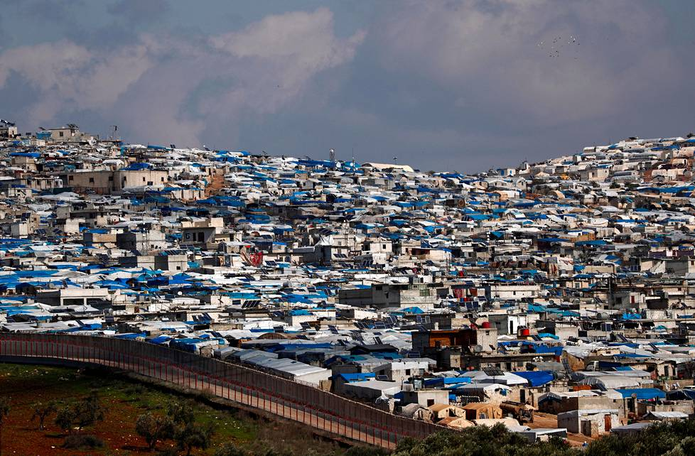 Atmen kylän laidalla Syyriassa sijaitsee suuri pakolaisleiri. David McClellan asui Atmessa vuodesta 2014 aina tähän kesään asti.