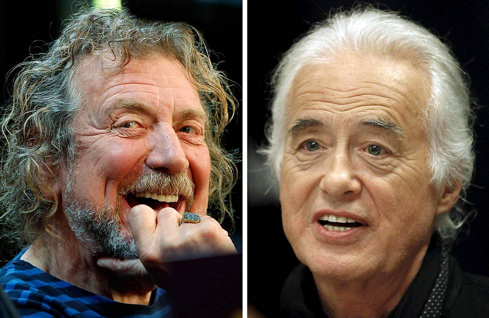 Robert Plant ja Jimmy Page
