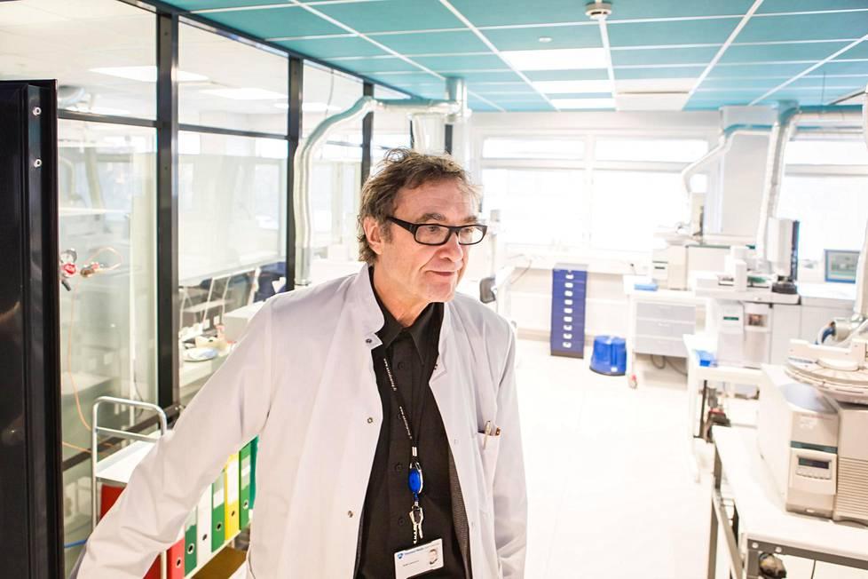 Suomen antidopinglaboratorion entinen johtaja Antti Leinonen kuvattuna vuonna 2016.