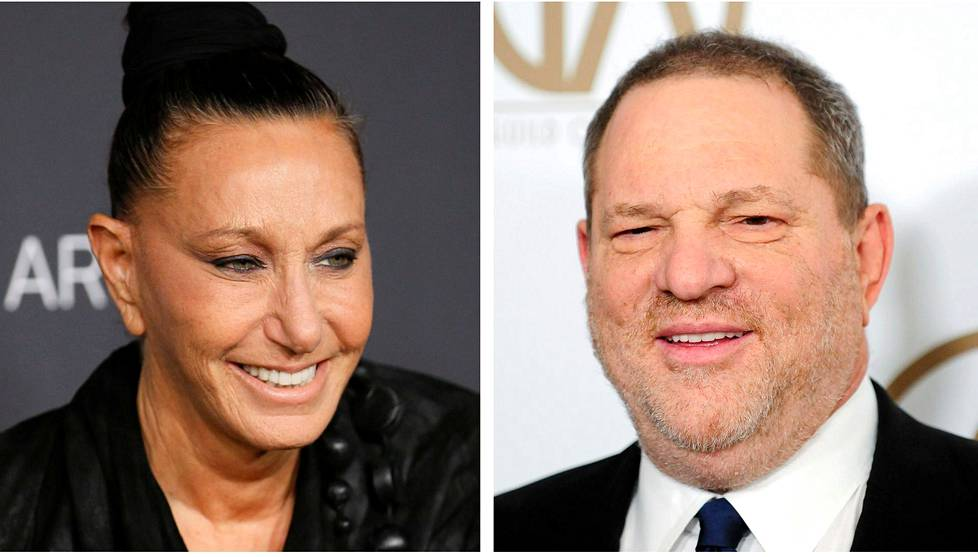 Donna Karan ja Harvey Weinstein.