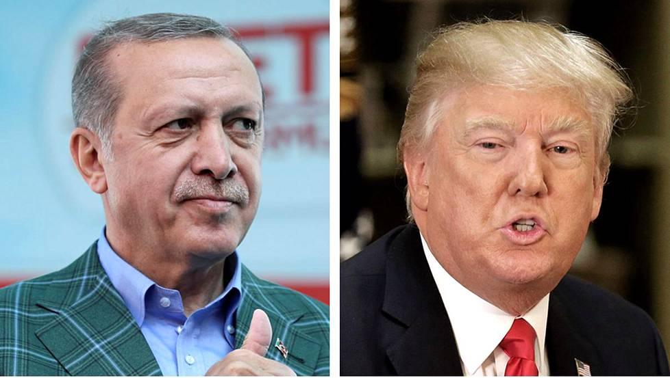 Erdogan kertoi tapaavansa Trumpin - Ulkomaat | HS.fi