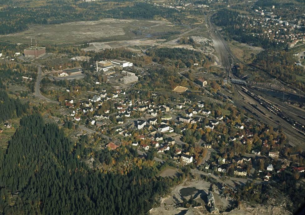 Tältä näytti Länsi-Pasilan ja Ilmalan seutu vuonna 1964.