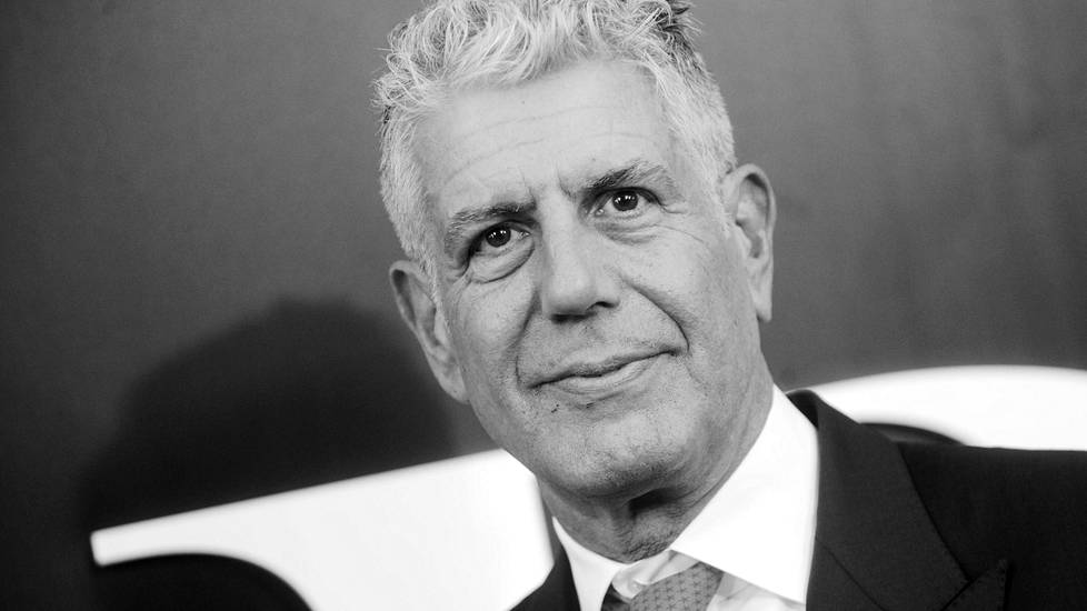 Anthony Bourdain 1956-2018.