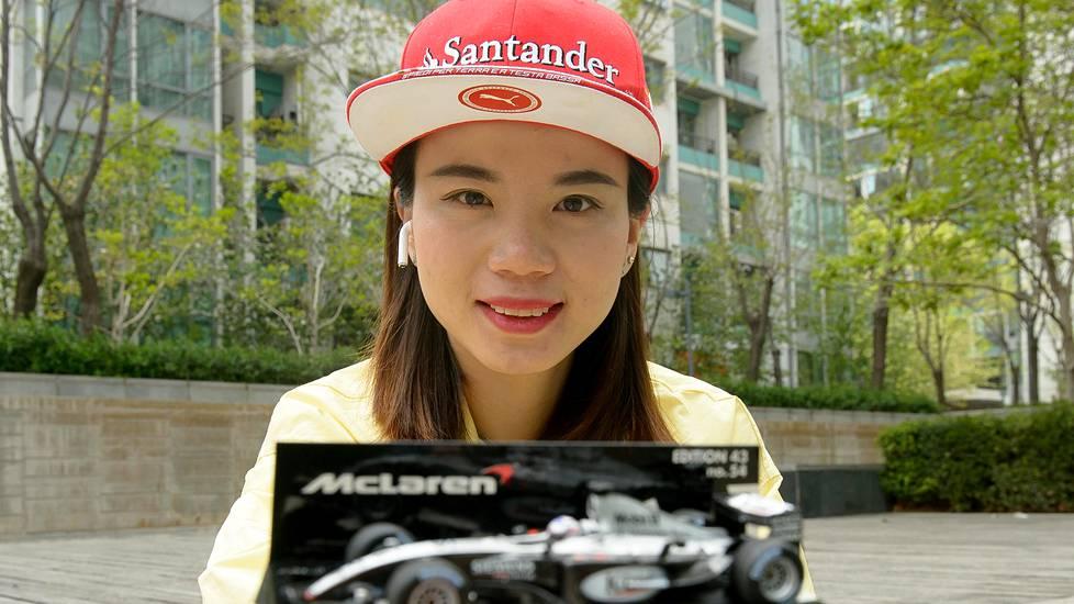 Kimin vuoden 2003 testiauto on Long Yirun onnenkalu.