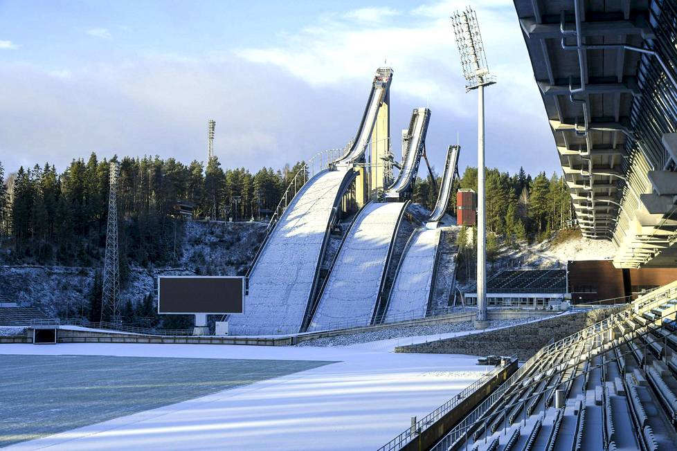 Today, the Lahti Sports Center looks like this.