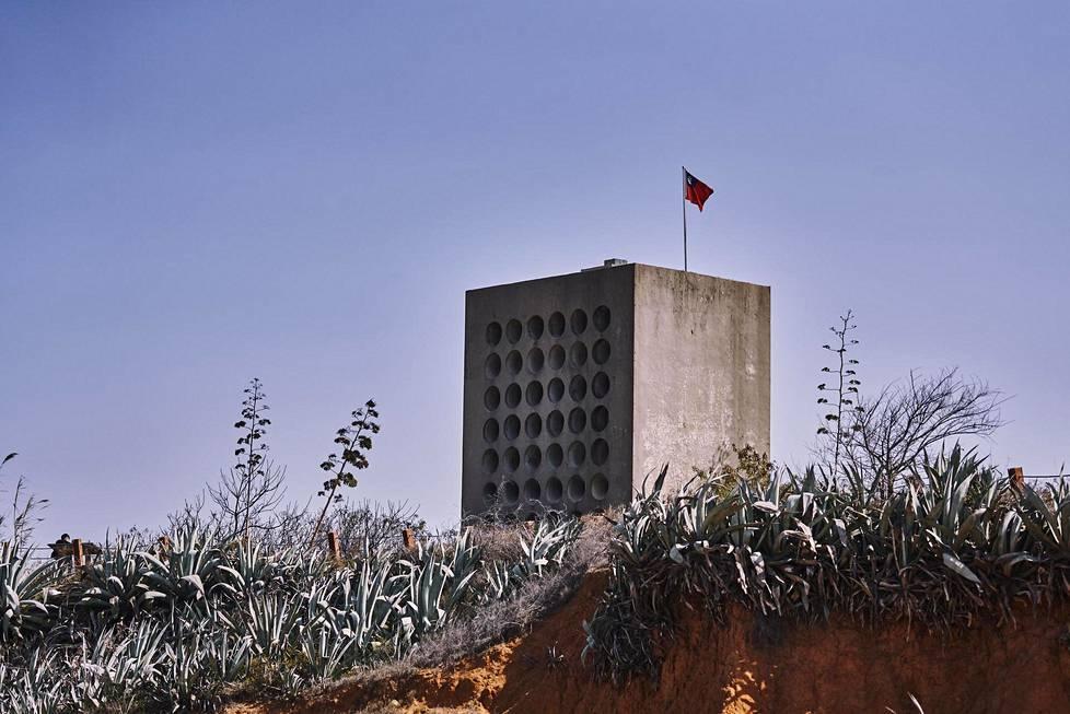 Beishanin propagandatorni pauhasi yötä päivää, joten se pystytettiin kauas asutuksesta.