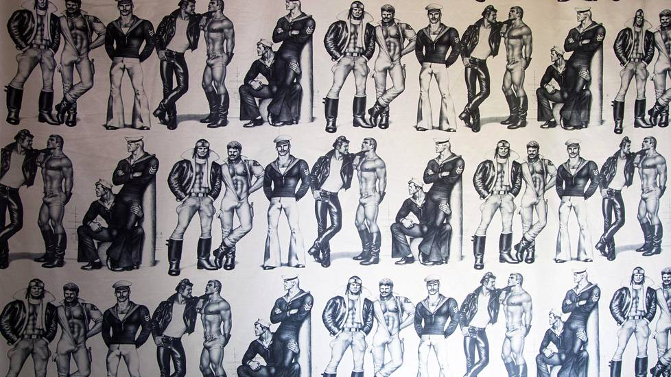 Finlaysonin Tom of Finland -kuosia.