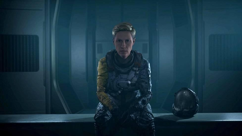 Returnal-pelissä ohjaillaan tutkimusmatkailija Seleneä Vassosia. Ääninäyttelijänä toimii Jane Perry.