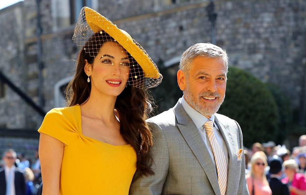 Amal ja George Clooney.