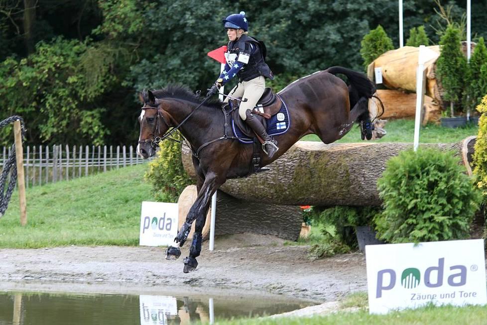 Pauliina Swindells ja Ferro S tähtäävät MM-kilpailujen jälkeen seuraaviin olympialaisiin.