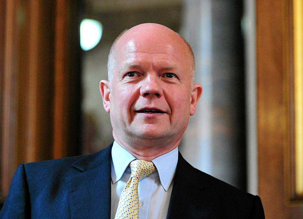 Britannian ulkoministeri William Hague.