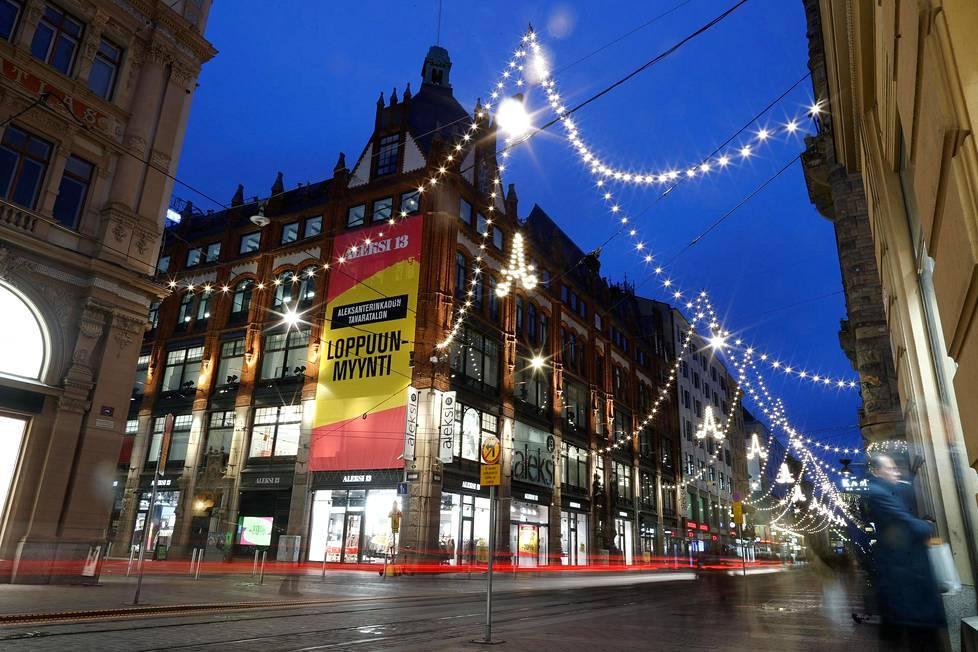 Aleksi 13 -tavaratalo on myynyt muotia Aleksanterinkatu 13:ssa 1960-luvulta lähtien. Sen ovet sulkeutuvat vuoden 2020 loppuun mennessä.