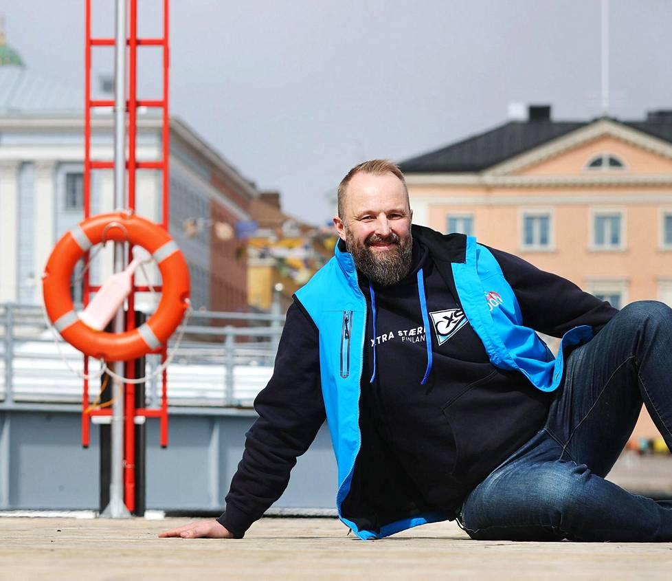 Arto Linnervuolla on suuria suunnitelmia ja kirkkaita haaveita suomalaisen avomeripurjehduksen kehittämiseksi.