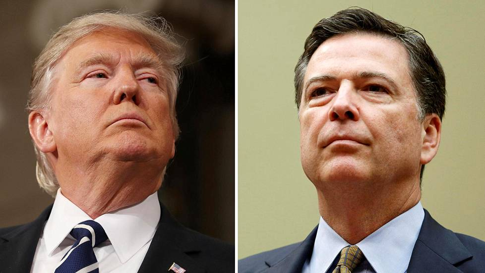 Donald Trump ja James Comey