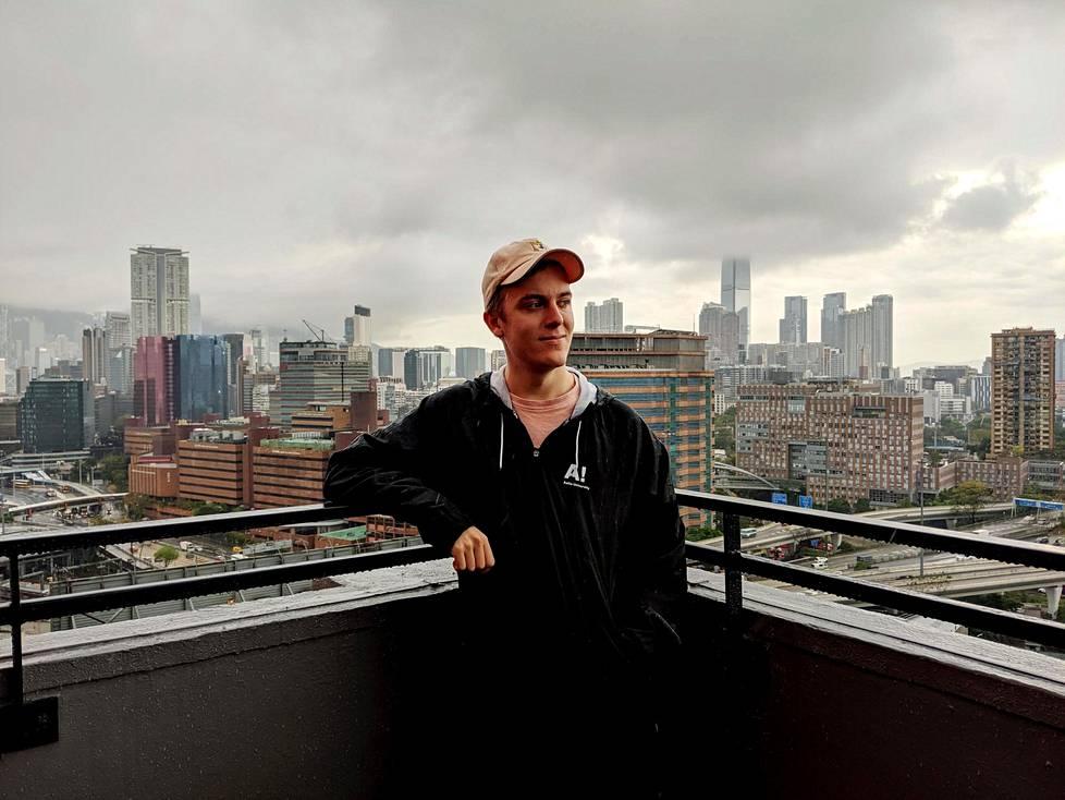 Niklas Länsiö on asunut Hongkongissa vasta muutaman kuukauden.