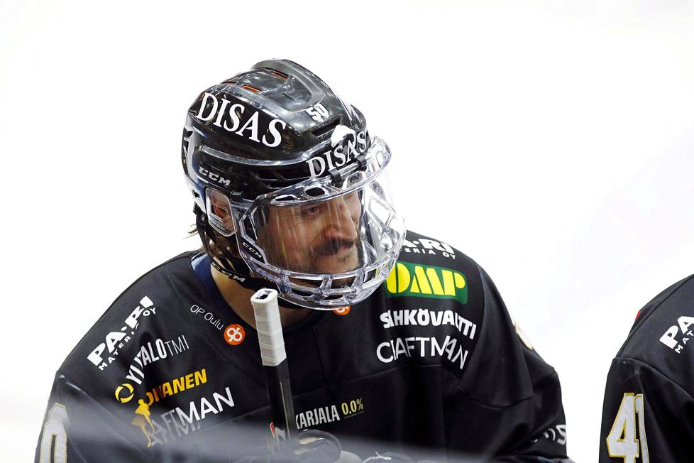 Juhamatti Aaltonen is playing for the fourth time in his career at Kärpi.