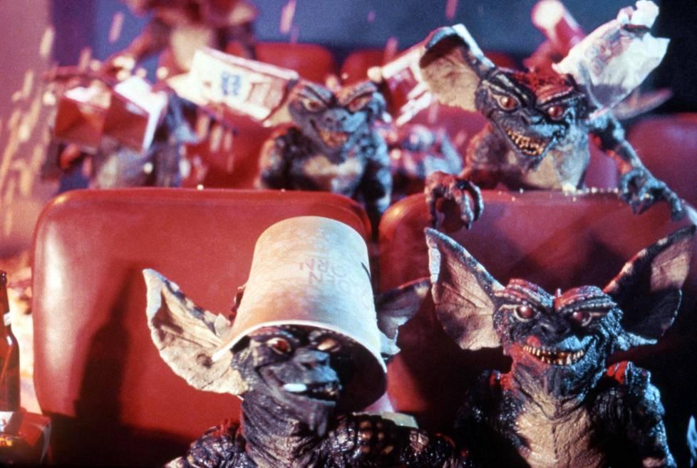 Riiviöt elokuvissa Gremlinsissä (1984).