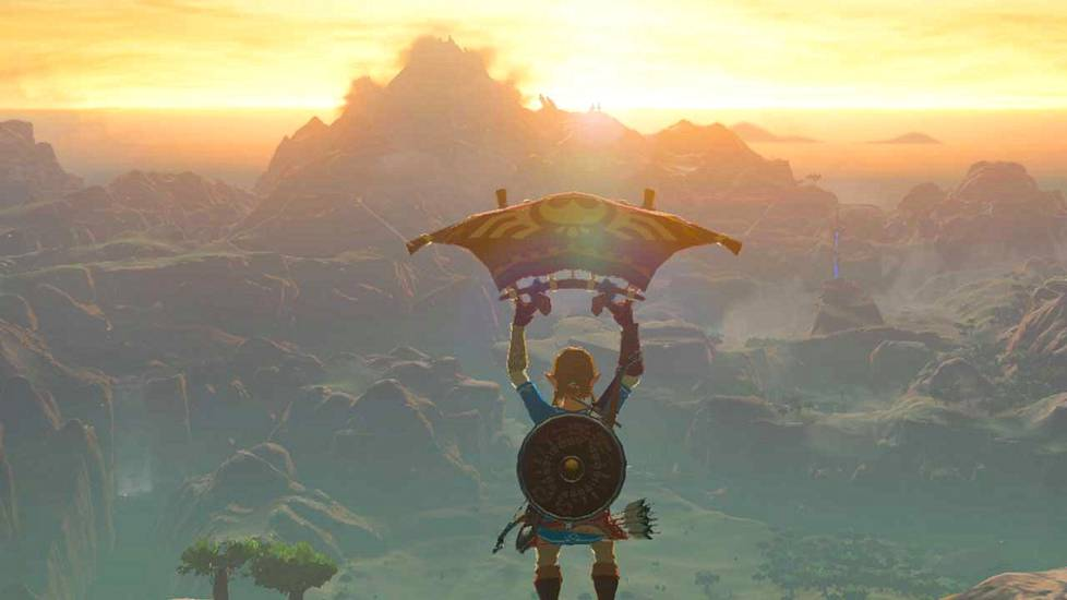 The Legend of Zelda: Breath of the Wild oli 2017 julkaistun Nintendo Switch -konsolin lippulaivapeli.
