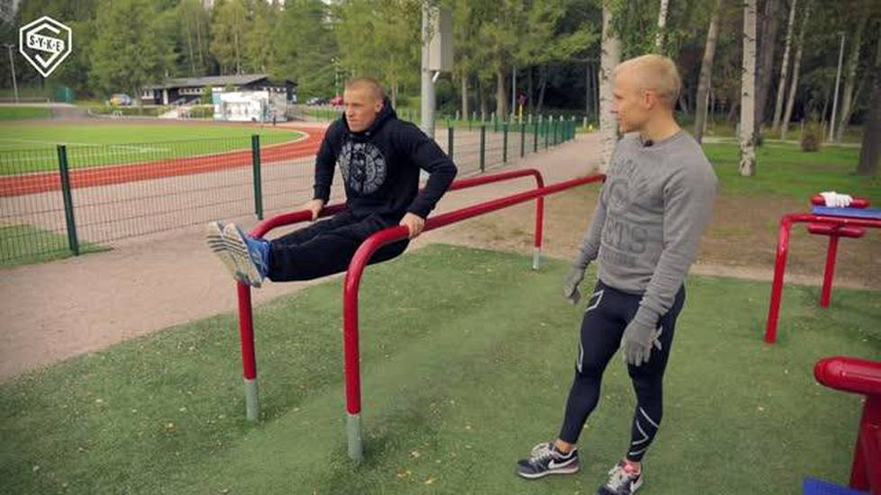 Videoartikkeli, Street workoutin alkeet: Dippivariaatiot