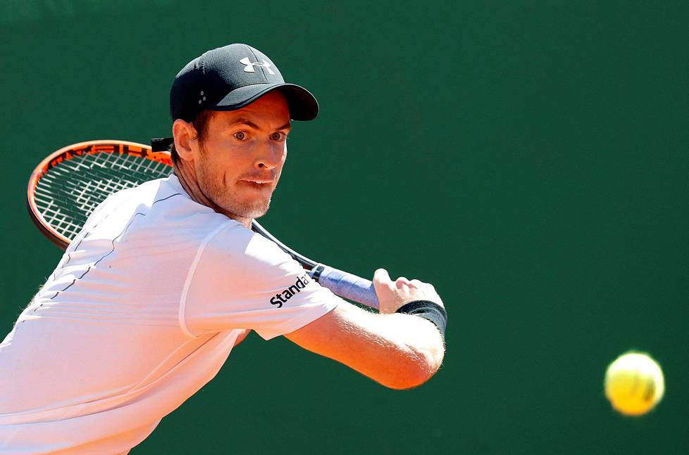 Andy Murray kohtasi Albert Ramos-Vinolasin torstaina.