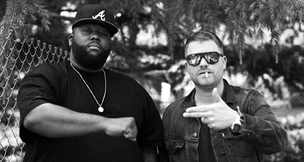 Run the Jewelsin muodostavat Killer Mike (vas.) ja El-P.