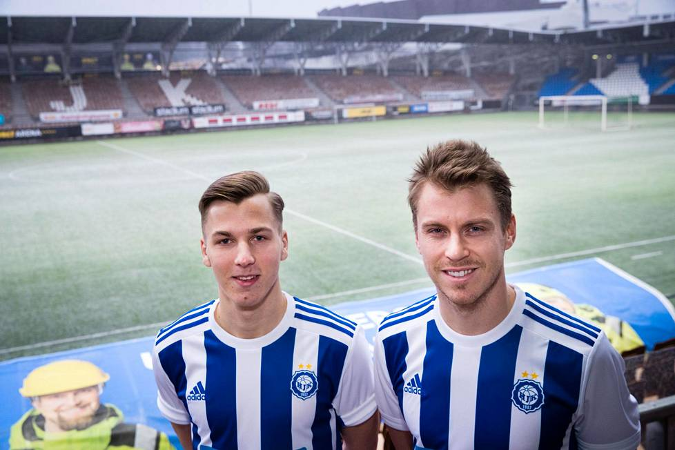 Lucas Lingman, 22, palaa ensimmäistä kertaa HJK:hon ja Rasmus Schüller, 28, jo toisen kerran.