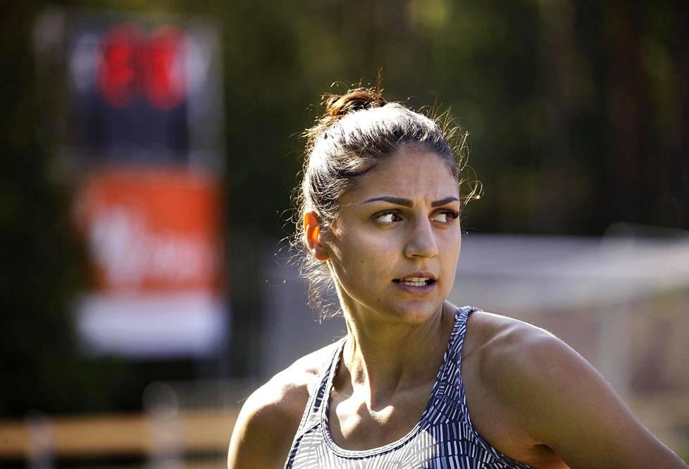 Nooralotta Neziri tähtää vuoden päästä pidettäviin Tokion olympiakisoihin 100 metrin aitajuoksussa.
