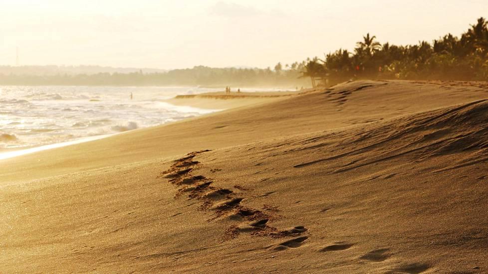 Tangallen itäosissa voi löytää puhuttelevan tyhjiä rantoja, mutta uiminen voi olla vaarallista rajun merenkäynnin takia.