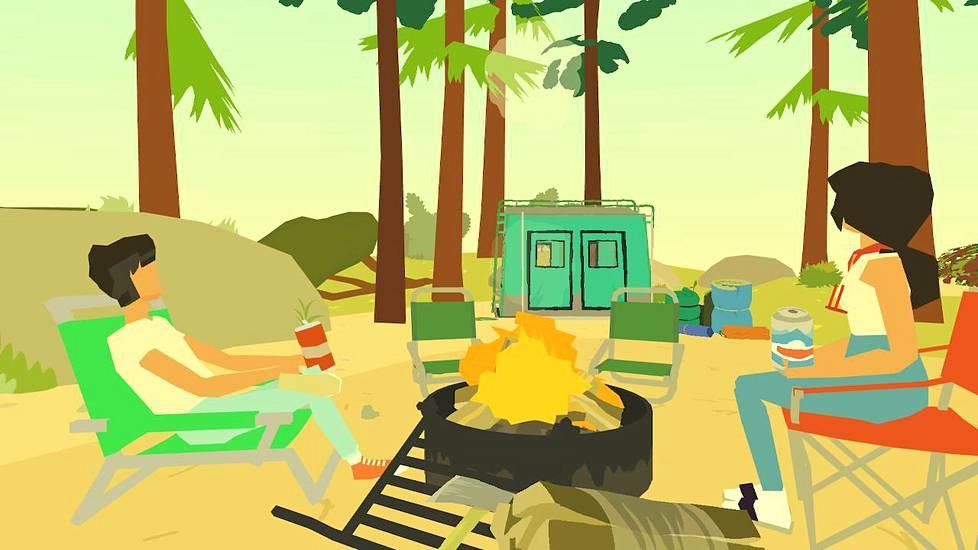 Wide Ocean Big Jacket on ratkiriemukas seikkailupeli telttailuretkestä.