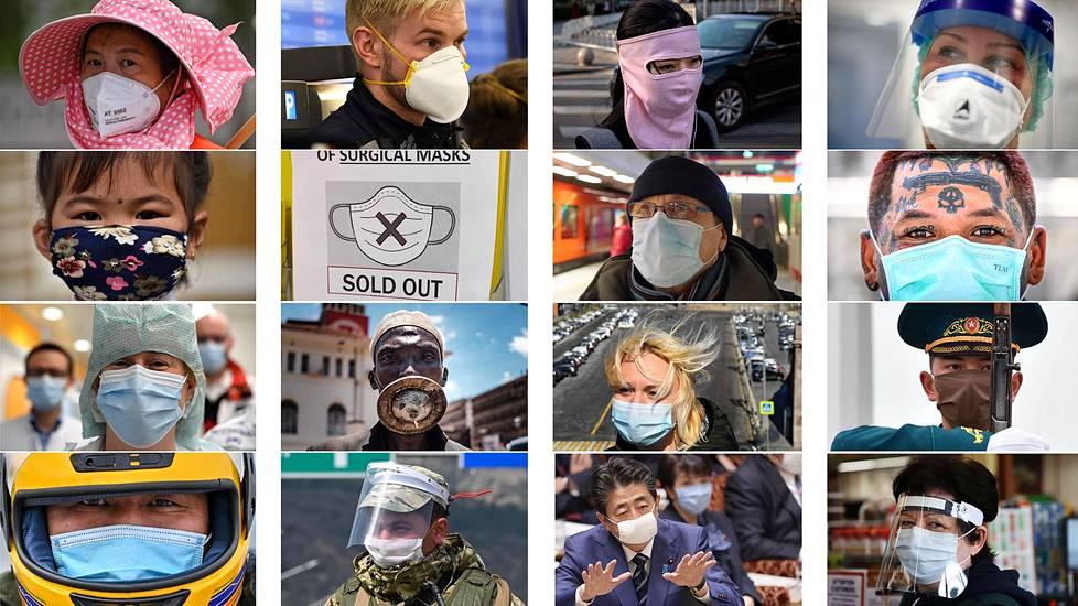 Suhtautuminen hengityssuojainten käyttöön vaihtelee eri puolilla maailmaa. Esimerkiksi Kiinassa maskien käyttö julkisilla paikoilla on yleistä.