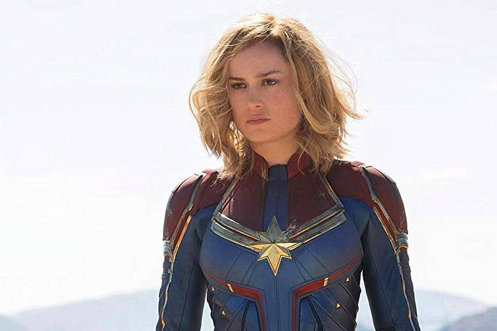 Brie Larson on Captain Marvel.